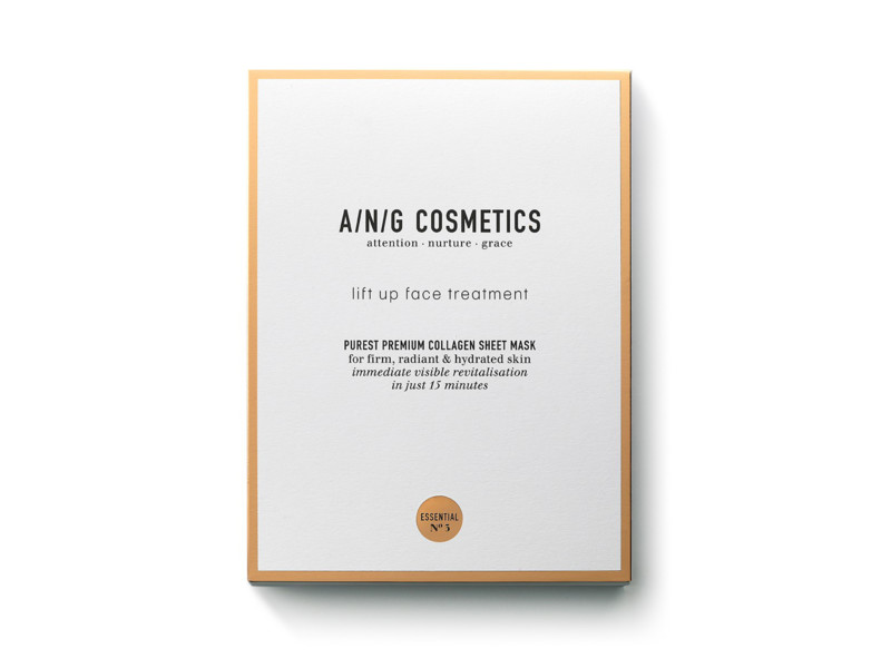 A/N/G Cosmetics introduceert Lift Up Face Treatment sheetmask