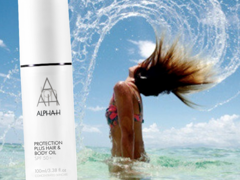 Protection Plus Hair & Body Oil SPF50+ van ALPHA-H