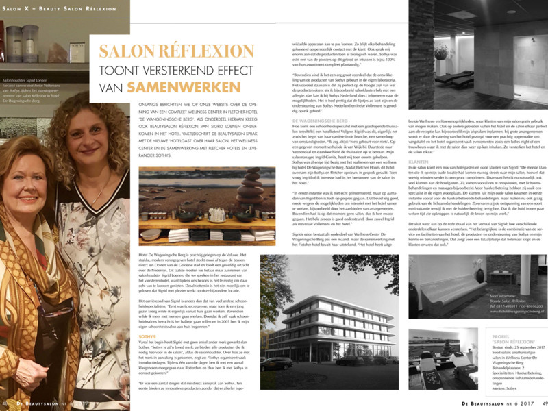 Zet je beautysalon in de spotlight in Salon X